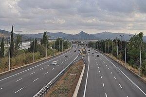 Autopista C-33 - Image: Autopista C 33 Mollet del Valles 2010 07 26 JT Curses 2