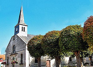 Avaux - the Church of Notre-Dame