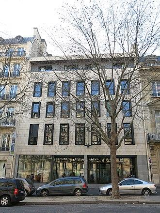 Internationale Deutsche Schule Paris - Image: Avenue d'Iéna, 17
