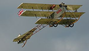 Roe IV Triplane - The Shuttleworth Collection's replica Roe IV Triplane