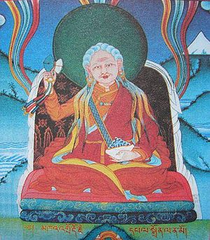 Ayu Khandro - Painting of Ayu Khandro at Merigar West. The seat of Chogyal Namkhai Norbu and The Dzogchen Community in Italy.