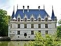 Azay-le-Rideaux Château d'Azay-le-Rideau Westseite 3.jpg