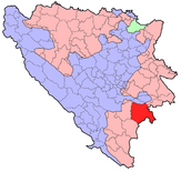 BH municipality location Foca.png