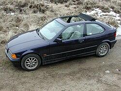BMW Compact Wikipedija Prosta Enciklopedija - Bmw 318ti