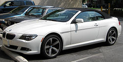 BMW 650ci Convertible (US)