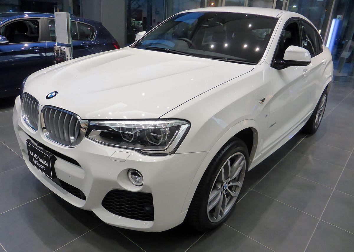 BMW X4 xDrive35i M Sport (F26) front.JPG