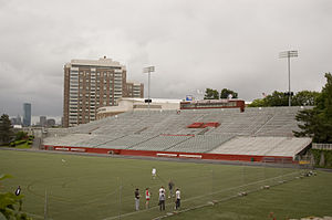 Nickerson Field - Image: BU Nickerson Fld Stands