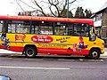 Baby Barn, Llanfairpwllgwyngyll, Wales, advert bus, 6 April 2005.jpg