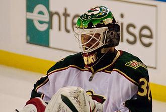 Minnesota Wild - Niklas Backstrom emerged as the Wild's starting goaltender during the 2006–07 season.