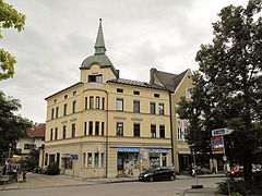 Bad Aibling, straatzicht3 Bahnhofstrasse 2012-08-06 14.55.jpg