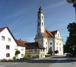Bad Schussenried - Steinhausen, Wallfahrtskirche St. Peter und Paul