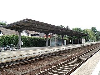 Salzgitter-Ringelheim station Railway station in Salzgitter, Germany