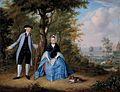 Balthasar Beschey - Portrait of Pieter De Clercq and his wife Agatha Stockelaar.jpg