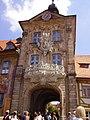 Bamberg Altes Rathaus Durchgang 2.JPG