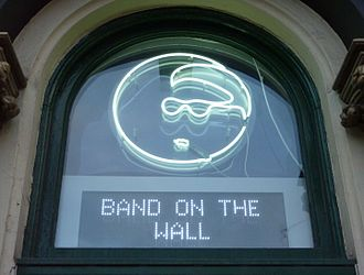 Band on the Wall - The Band on the Wall's iconic logo