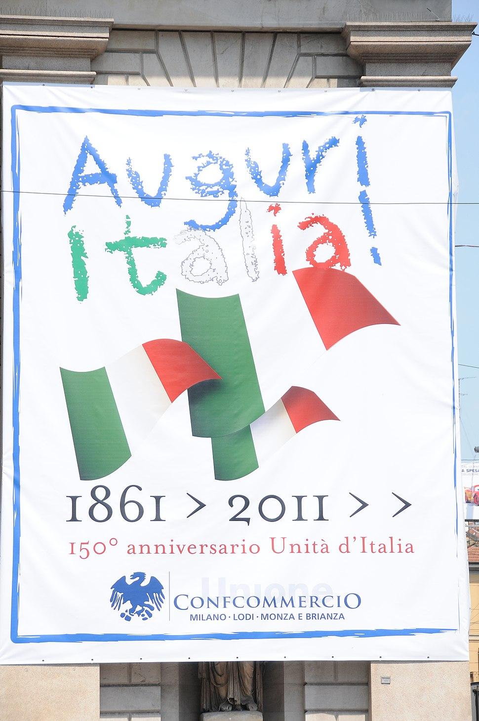 Baner Auguri Italia