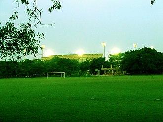 FAO Football League - Image: Barabati stadium view from satyabrata stadium
