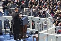 Barack Obama delivers inaugural address 090120-F-6184M-333.JPG