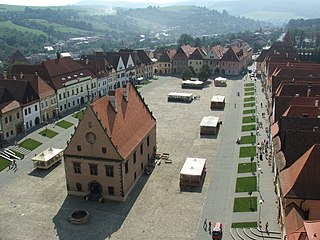 Bardejov Town in Slovakia