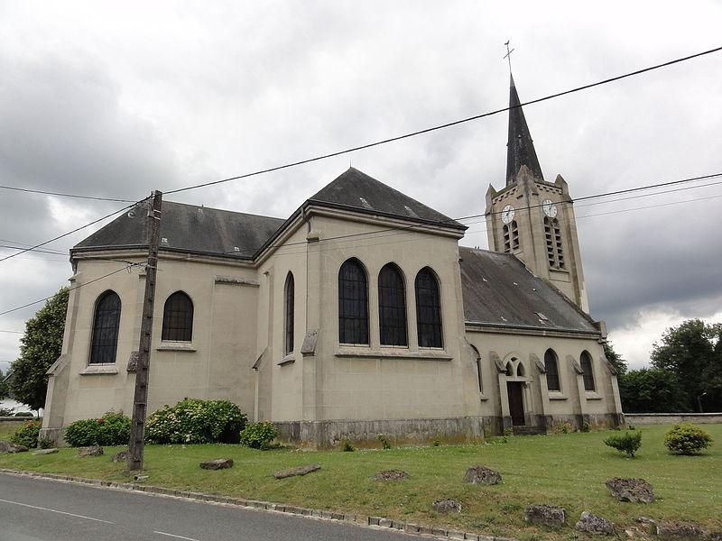 Barisis-aux-Bois (Aisne) église
