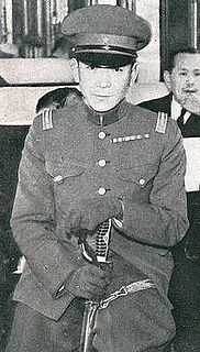 Japanese Army officer and equestrian