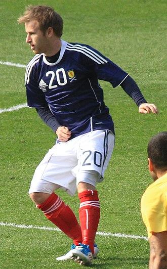 Barry Bannan - Bannan playing for Scotland in March 2011