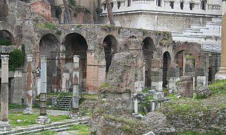 Basilica Argentaria - Image: Basilica argentaria 1