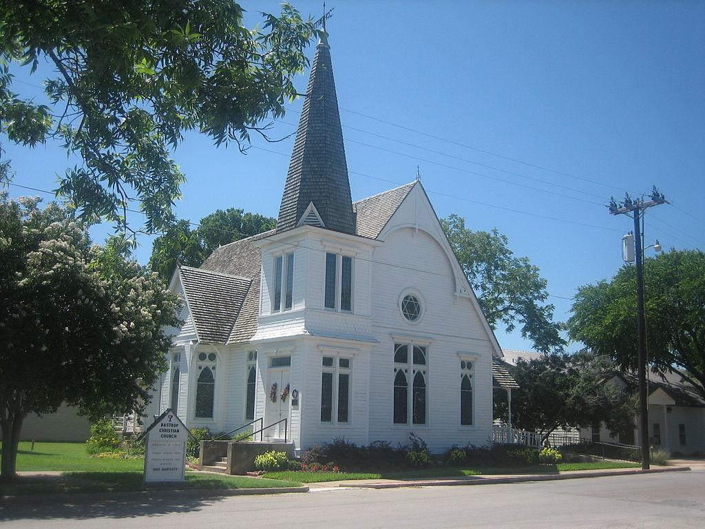 Christ Church Picture: File:Bastrop, TX, Christian Church IMG 0510.JPG