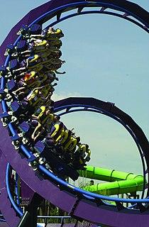 Batman: The Dark Knight (roller coaster) Steel roller coaster at Six Flags New England