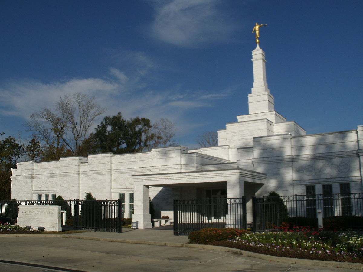 Baton Rouge Louisiana Temple Wikipedia