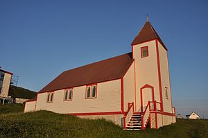 Battle Harbour - St. James Anglican Church