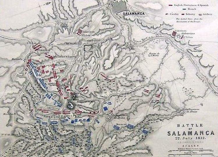 Battle of Salamanca 22 July 1812
