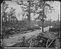 Battlefield, New Hope Church, Ga., 1864, showing Confederate entrenchments. (4153681432).jpg