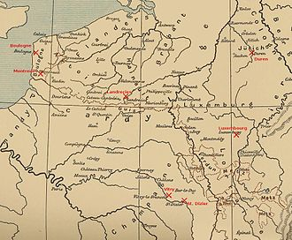 Italian War of 1542–1546 - Battles and sieges in northern France and the Low Countries during the war