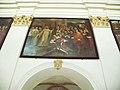 Bazylika w Koronowie-obraz króla korzącego się przed św.Bernardem.JPG