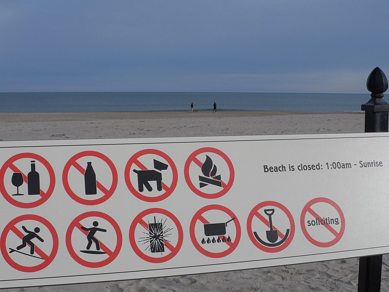 filebeach warning signsjpg wikimedia commons