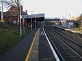 Beckenham Hill stn look north2.JPG