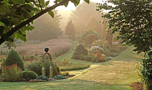 Bedrock Gardens - Image: Bedrock Garden's Misty View