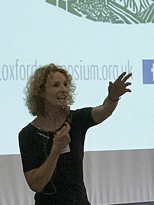 Bee Wilson - Plenary chair at the Oxford Food Symposium