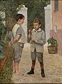 Belmiro de Almeida - Dois Meninos Jogando Bilboquê.JPG