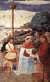 Benozzo Gozzoli - Disembarkation at Ostia (scene 5, east wall) - WGA10289.jpg
