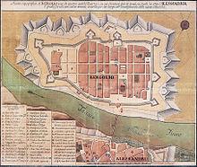 L'antico quartiere di Bergoglio prima della sua demolizione