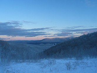 The Berkshires - Image: Berkshires in Winter
