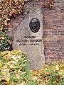 Berlin Friedrichsfelde Zentralfriedhof, Gedenkstätte der Sozialisten (Ringmauer) - Müller-Franken.jpg