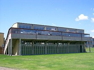 ADGB Trade Union School - Image: Bernau bei Berlin ADGB Schule Hörsäle