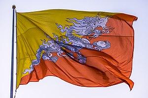 Flag of Bhutan - Flag of Bhutan