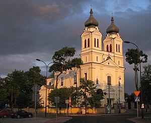 Biłgoraj - Polish Baroque Church of the Assumption of Mary, early 17th century, Biłgoraj