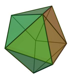 Biaugmented triangular prism - Image: Biaugmented triangular prism