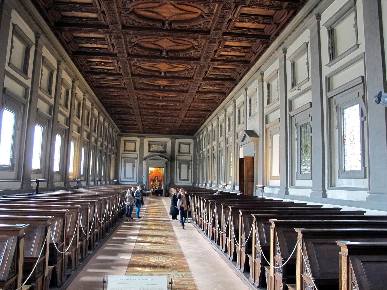 File:Biblioteca laurenziana, sala lettura 04.JPG ...