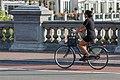 Bicyclist crossing De Hogesluis Amsterdam 2016-09-15-6775.jpg